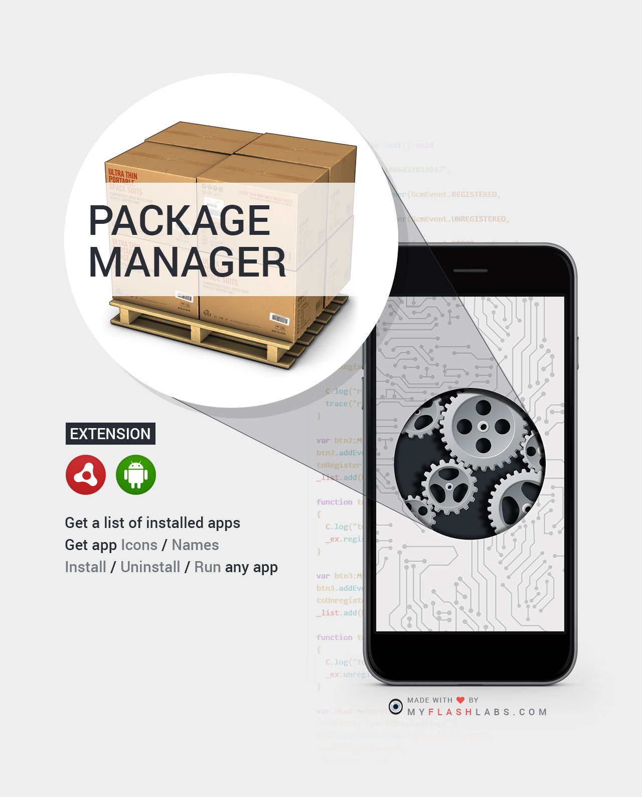 packageManager ANE